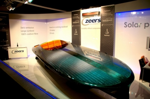 world's first solar speedboat