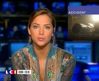beautiful news reporter melissa theuriau photos