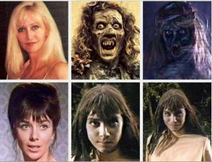 horror movies make up photos