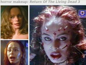 horror movies make up pictures